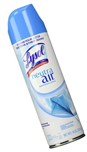 Lysol Neutra Air Sanitizing Spray, Fresh Breeze, 16oz, Air Freshener