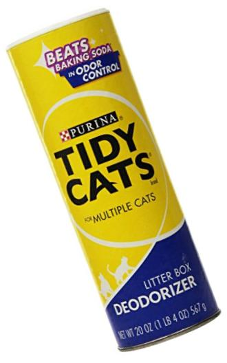 Purina Tidy Cats Litter Box Deodorizer - (8) 20 oz. Canister