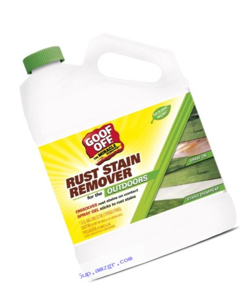 RustAid GSX00101 Goof Off Rust Stain Remover, 1 Gallon