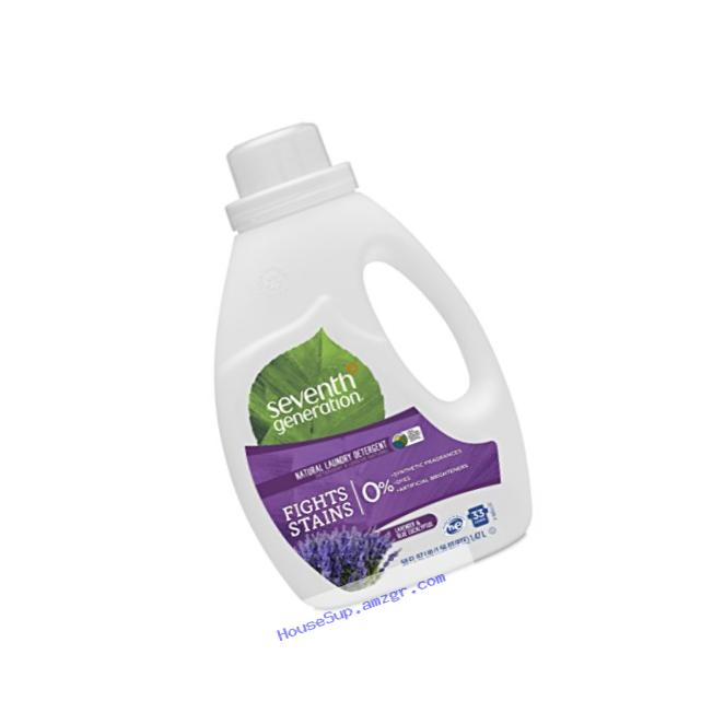 Seventh Generation Laundry Detergent, Blue Eucalyptus & Lavender, 50 oz